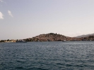 Остров Порос в заливе Сароникс. Греция.