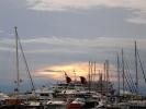 Остров Эгина  в заливе  Сароникс. Греция.