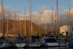 Рассвет в яхтенной марине Ла Гомера