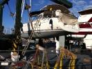 Обработка яхты необрастайкой