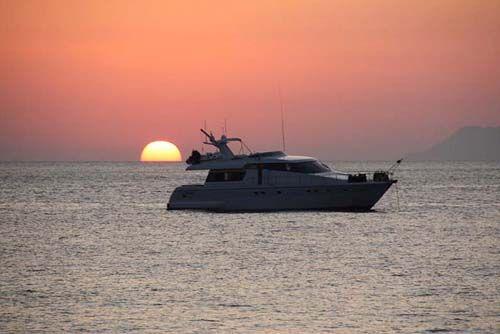 На яхте по Сицилии и Эолийским островам.