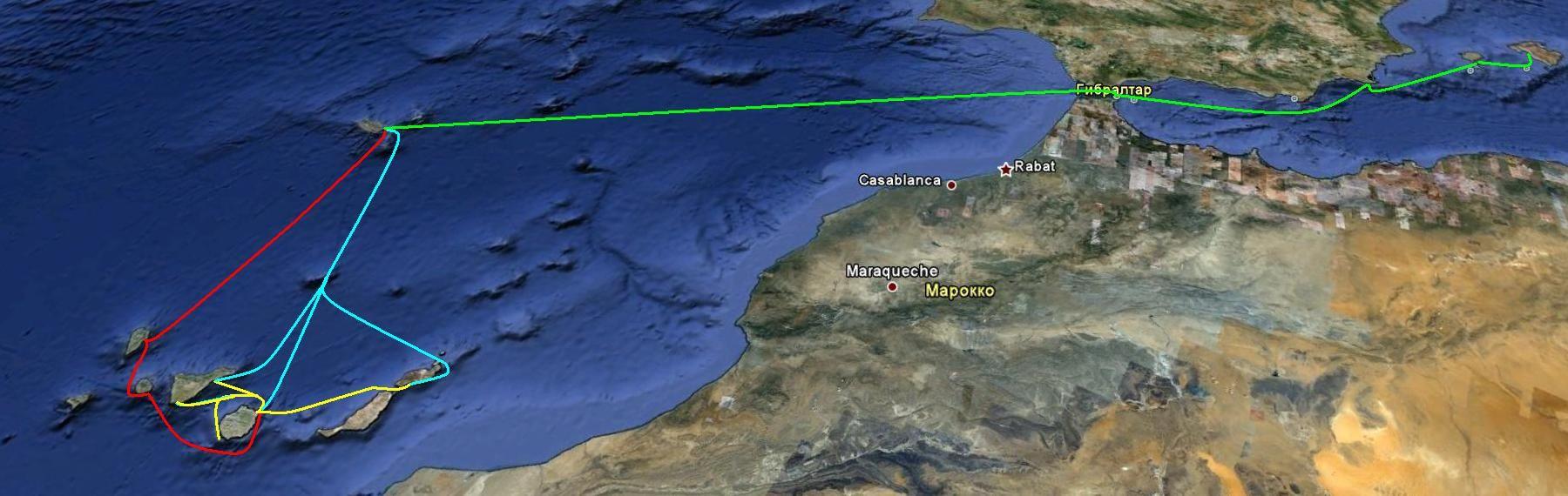 «Атлантическая маевка 2011» с 23 апреля по 14 мая 2011г. в море на все майские праздники