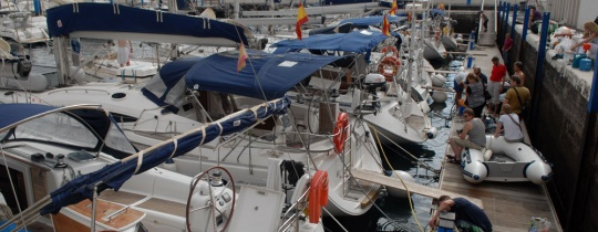 Канарская флотилия. Начали
