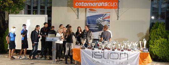 Catamaran Cup 2011. Открытие регаты.