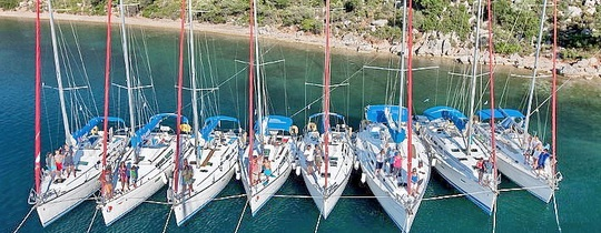 Blue Cup 2014. Доступные яхты.