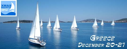Christmas Regatta. Greece. December 20-27, 2014.
