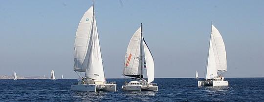 Русские команды на V регате Catamarans Cup 2014