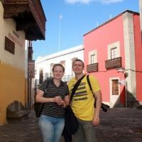 В старом городе Лас-Пальмас-де-Гран-Канария
