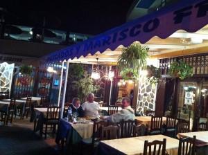 Рыбный ресторанчик в Amarilla
